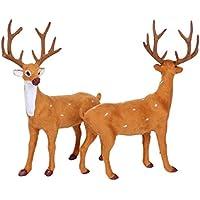 Elk Milu鹿Goat ToyハロウィンLovely Christmasシミュレーションウィンドウ表示コスプレ人気おもしろいLovely Animal