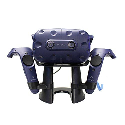Esimen HTC Vive Pro Headset Stand - Headset Display Stand for HTC Vive Pro Virtual Reality Headset Storage Mount Holder (Black)