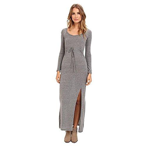 (オルタナティヴ) Alternative レディース ドレス パーティドレス Eco Jersey L/S Maxi Dress 並行輸入品