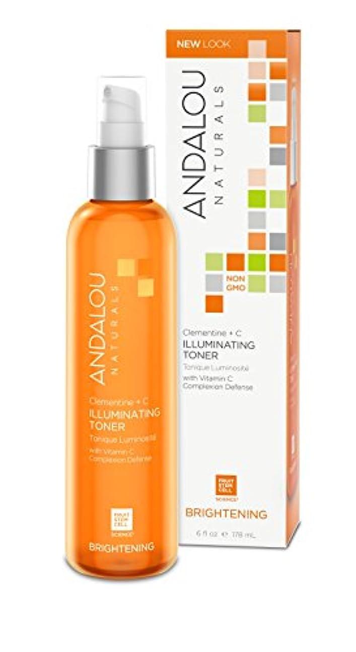 日常的に続ける修羅場オーガニック ボタニカル 化粧水 トナー ナチュラル フルーツ幹細胞 「 C+C トナー 」 ANDALOU naturals アンダルー ナチュラルズ