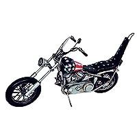 レトロ感漂うブリキのおもちゃ。 アンティークオブジェ ブリキのおもちゃ(motorcycle american) 27440 〈簡易梱包