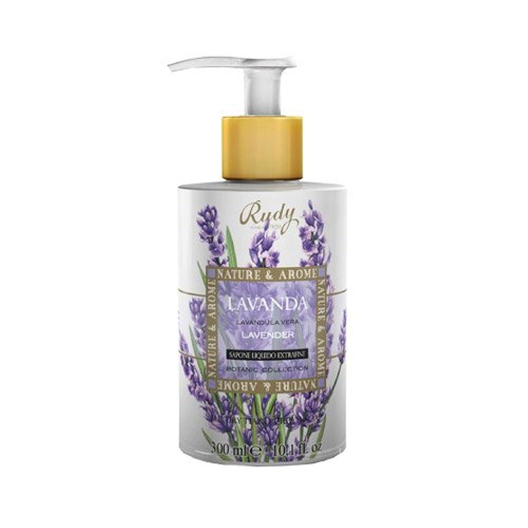 長々と文字介入するRUDY Nature&Arome SERIES ルディ ナチュール&アロマ Liquid Soap リキッドソープ ラベンダー
