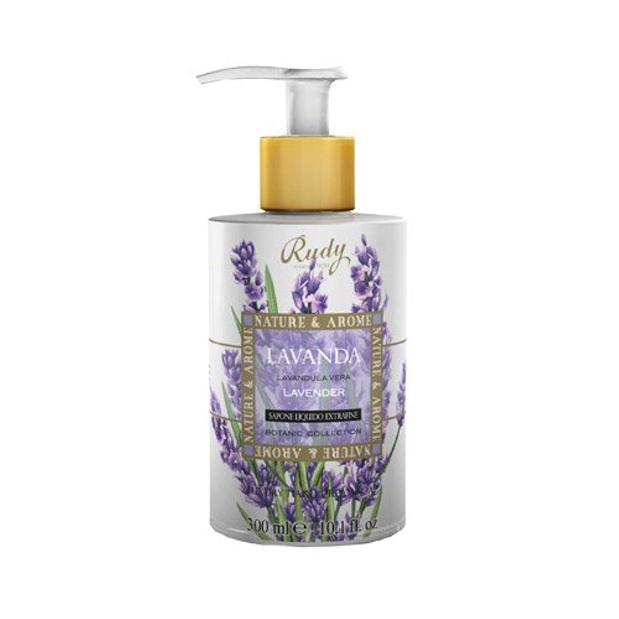 大いに拘束する涙RUDY Nature&Arome SERIES ルディ ナチュール&アロマ Liquid Soap リキッドソープ ラベンダー