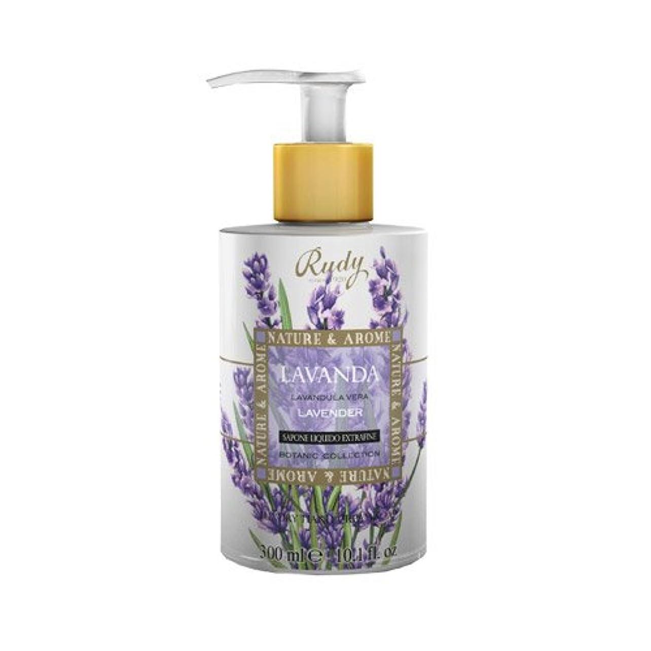ボタン有益ヒゲRUDY Nature&Arome SERIES ルディ ナチュール&アロマ Liquid Soap リキッドソープ ラベンダー