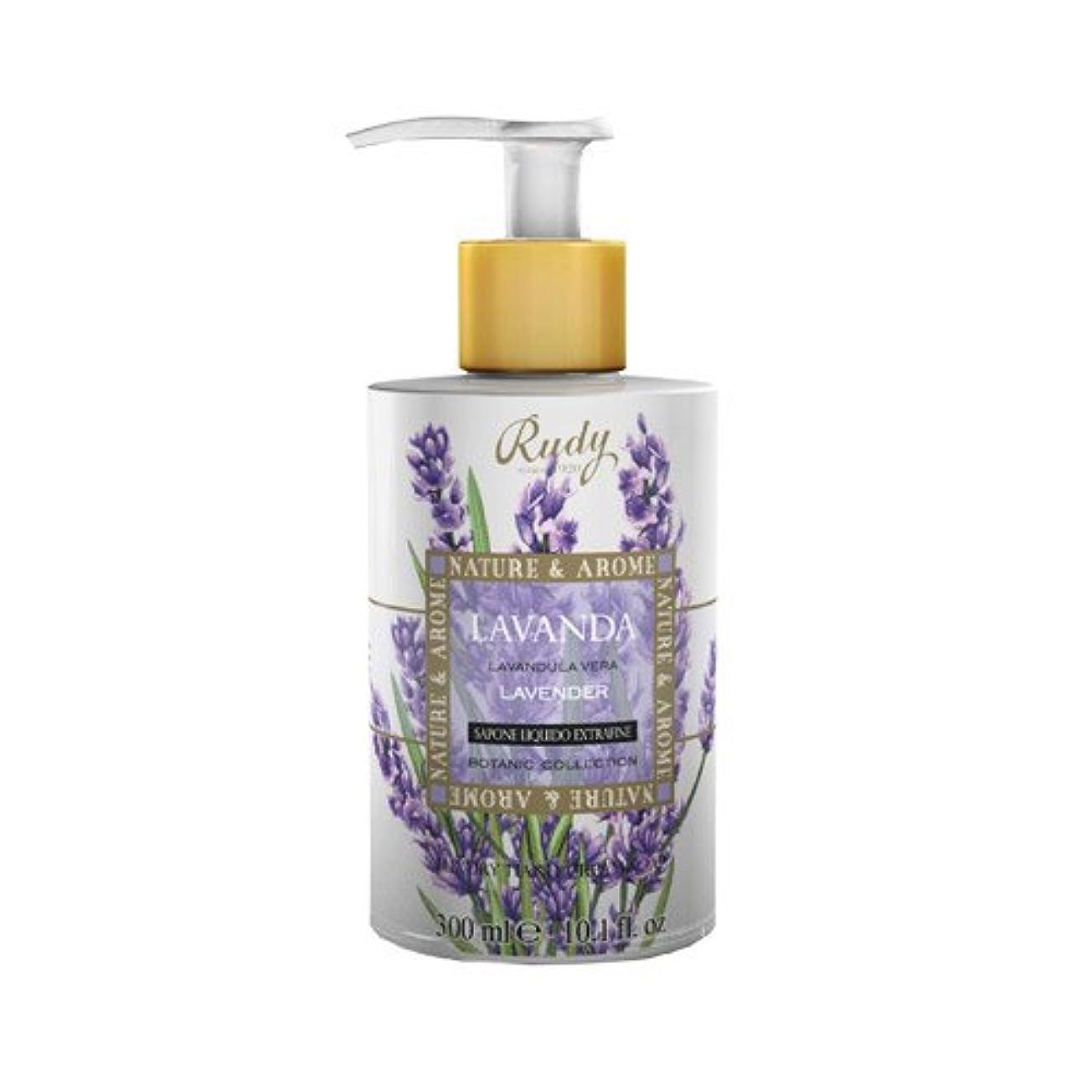 ジュニア挑む顔料RUDY Nature&Arome SERIES ルディ ナチュール&アロマ Liquid Soap リキッドソープ ラベンダー