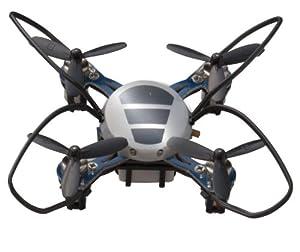 世界最小級マルチコプター!! 送信のボタン一つで高速空中回転!小さなクアトロクスがアクロバットに宙を舞う!2.4GHz正式承認です!10台まで同時飛行が可能!友達とアクロバット飛行を競おう!!専用USBコードでパソコンからも送信機からも充電可能!屋外でも充電に困ることはありません!!LED複数搭載で前後の視認にも役立ち華麗且つアクロバットな飛行を演出します!インドアでもアウトドアでも楽しみ方は自由!予備のローターも付属なのでガンガン遊べる!基盤部分をしっかりガード!デザインも近未来的で小さくても...