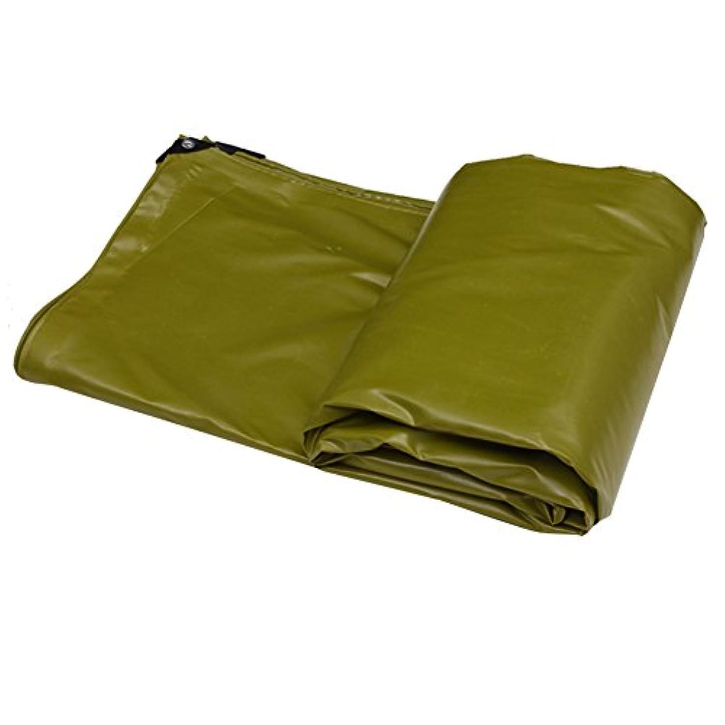と遊ぶ囲まれたドラゴンZHANWEI ターポリンタープ 厚くする PVC 日焼け止め 酸化防止 屋外の トレーラーカバー、 厚さ0.45 mm、 550g /㎡、 複数のサイズ (色 : Green, サイズ さいず : 4x5M)