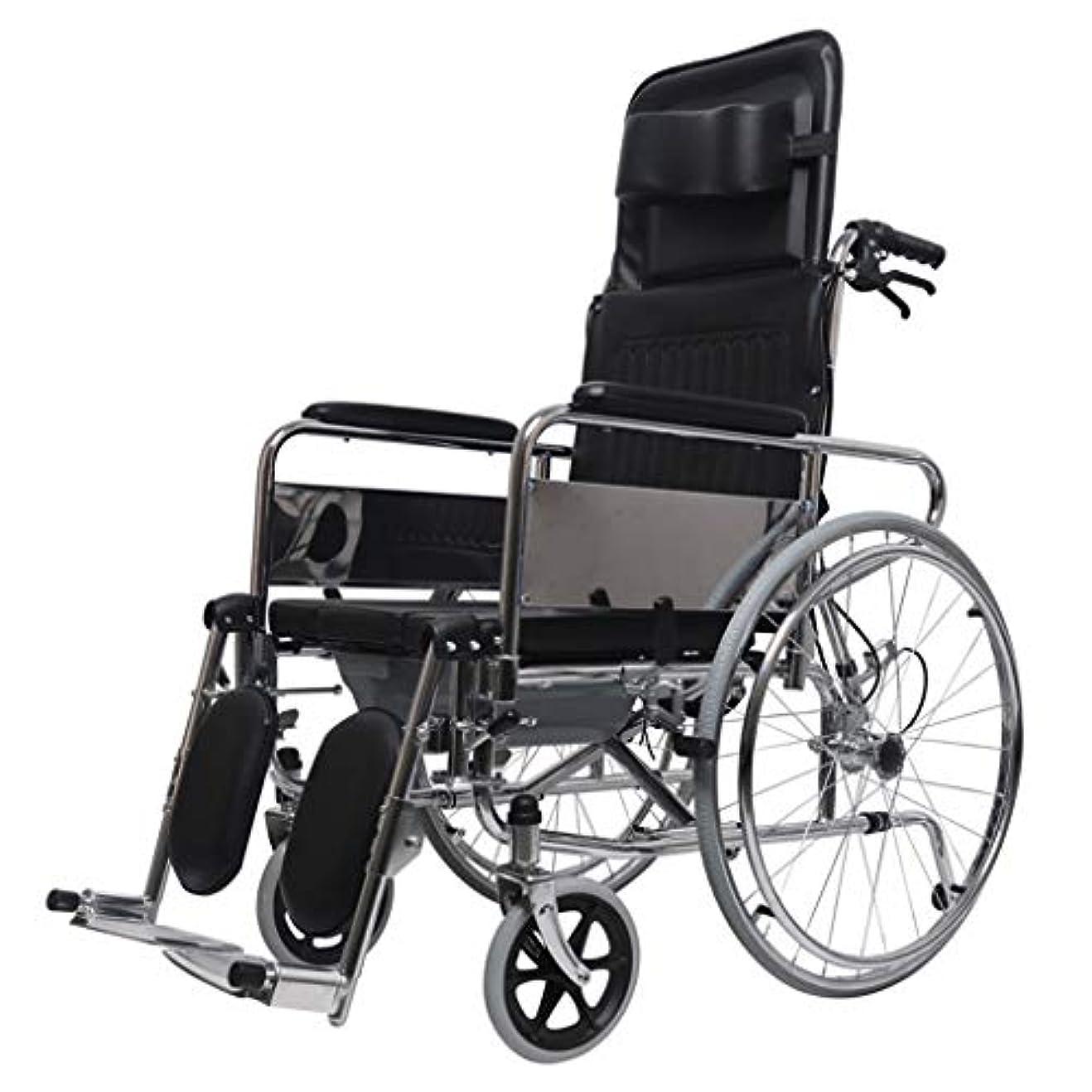 シェトランド諸島教育する影響力のある車椅子トロリー、ブレーキ付き多機能折りたたみ、高齢者向け車椅子、屋外旅行、優れたヘルパー
