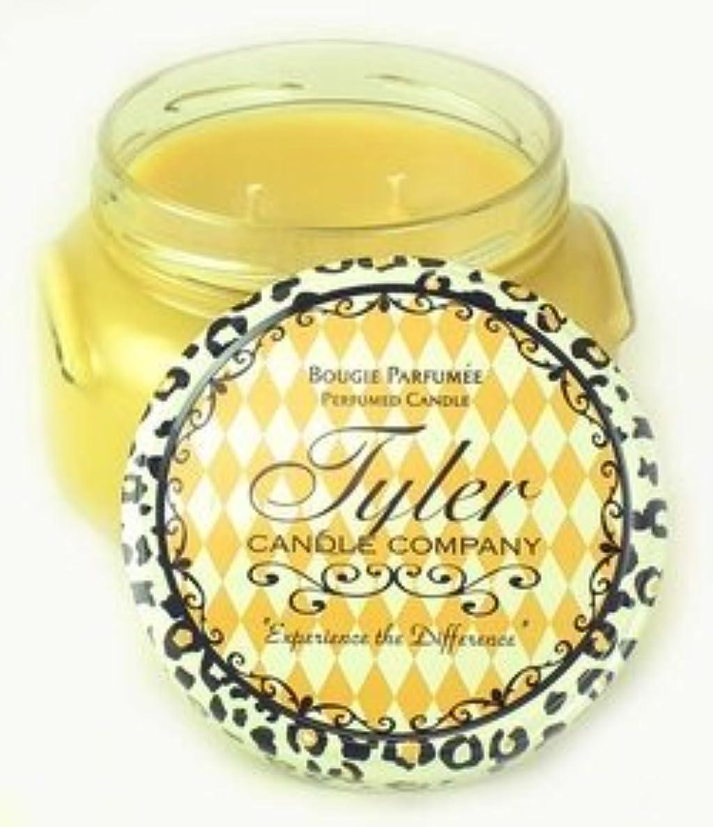 なめる体操ジェスチャーAFTER 5 Tyler 11 oz Medium Scented 2-Wick Jar Candle [並行輸入品]