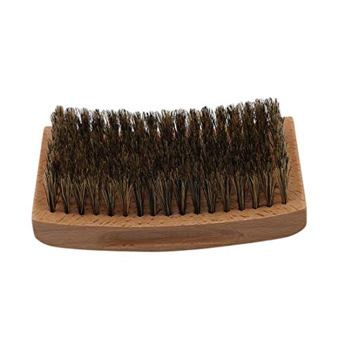 KLUMA ひげブラシ シェービングブラシ 理容 洗顔 髭剃り 泡立ち 洗顔ブラシ 5#