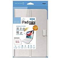 Digio2 iPad mini 2019 / iPad mini4 用 エアリーカバー シルバー TBC-IPM1906SL
