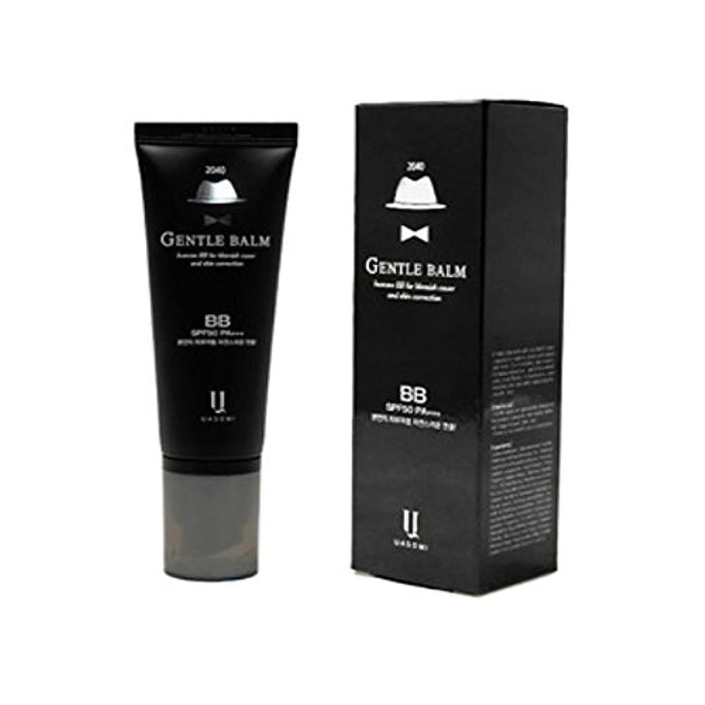 初心者アドバンテージ荒れ地(男 BB クリーム 韓国 日焼け止め) homme 2040 BB for blemish cover and skin correction korea beauty Gentle bam SFP50 PA+++
