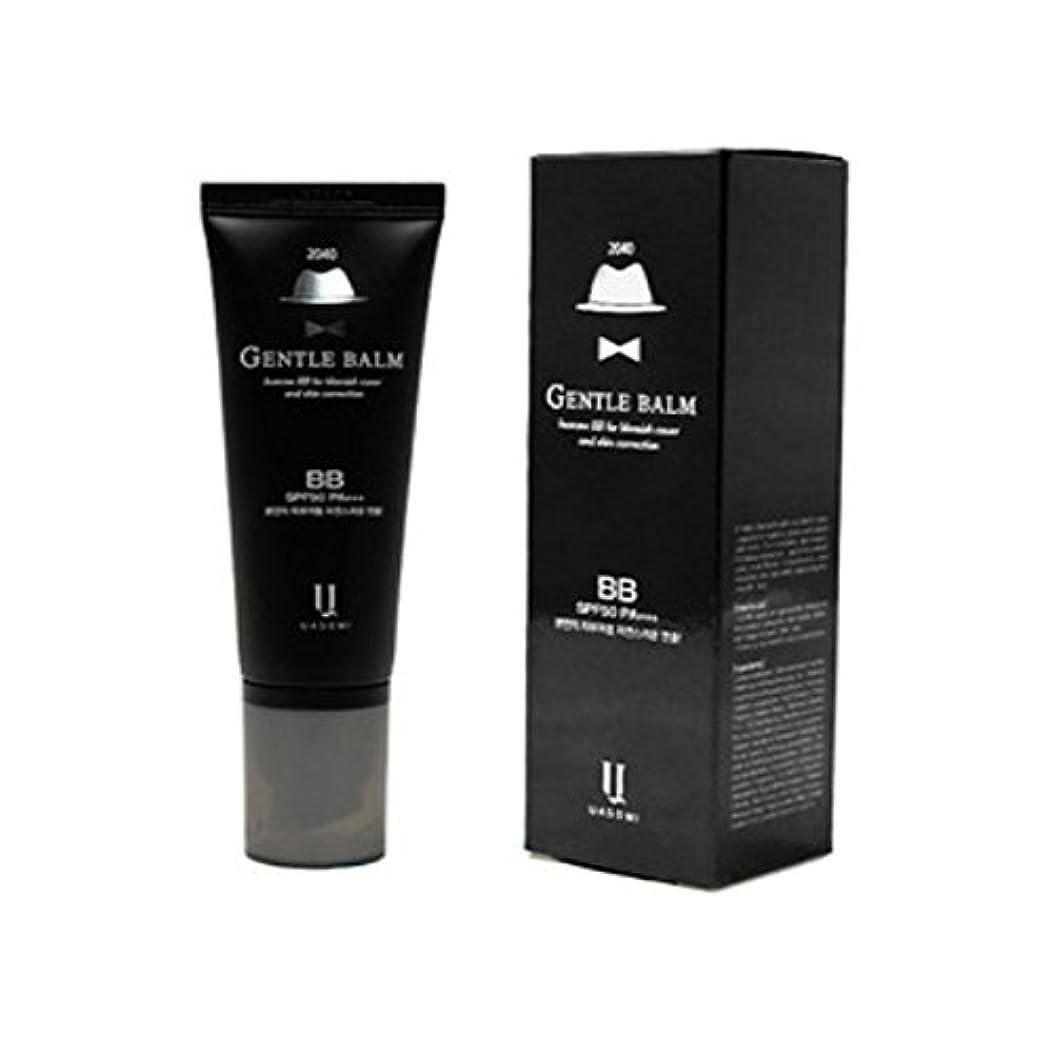 罪悪感スクリュー努力(男 BB クリーム 韓国 日焼け止め) homme 2040 BB for blemish cover and skin correction korea beauty Gentle bam SFP50 PA+++ (...