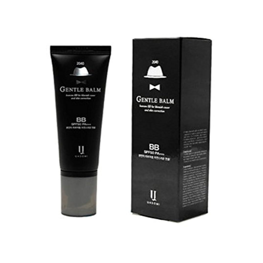 (男 BB クリーム 韓国 日焼け止め) homme 2040 BB for blemish cover and skin correction korea beauty Gentle bam SFP50 PA+++