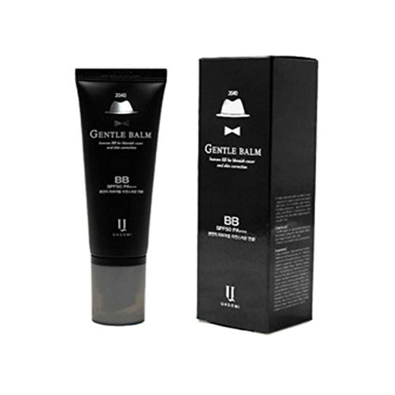 ファシズムロシアはい(男 BB クリーム 韓国 日焼け止め) homme 2040 BB for blemish cover and skin correction korea beauty Gentle bam SFP50 PA+++ (...