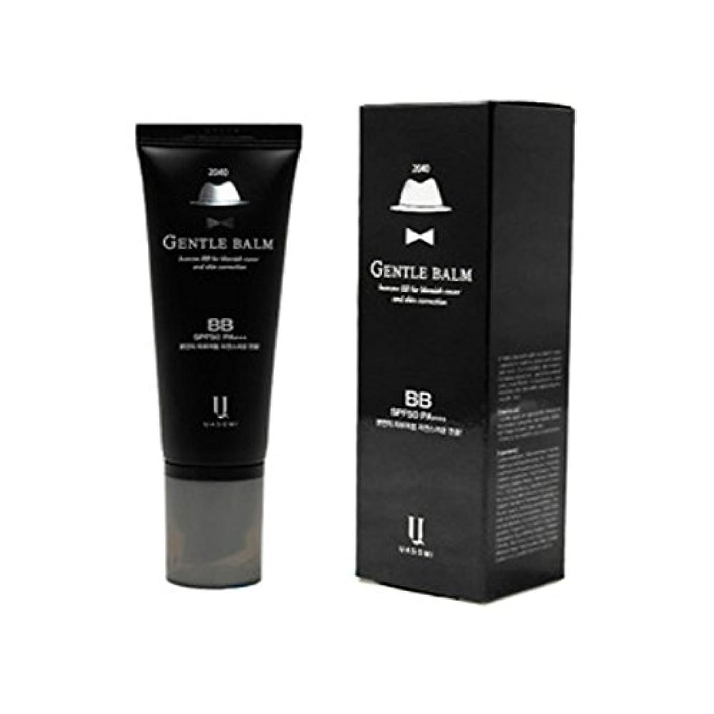 手荷物プレート悪の(男 BB クリーム 韓国 日焼け止め) homme 2040 BB for blemish cover and skin correction korea beauty Gentle bam SFP50 PA+++ (...