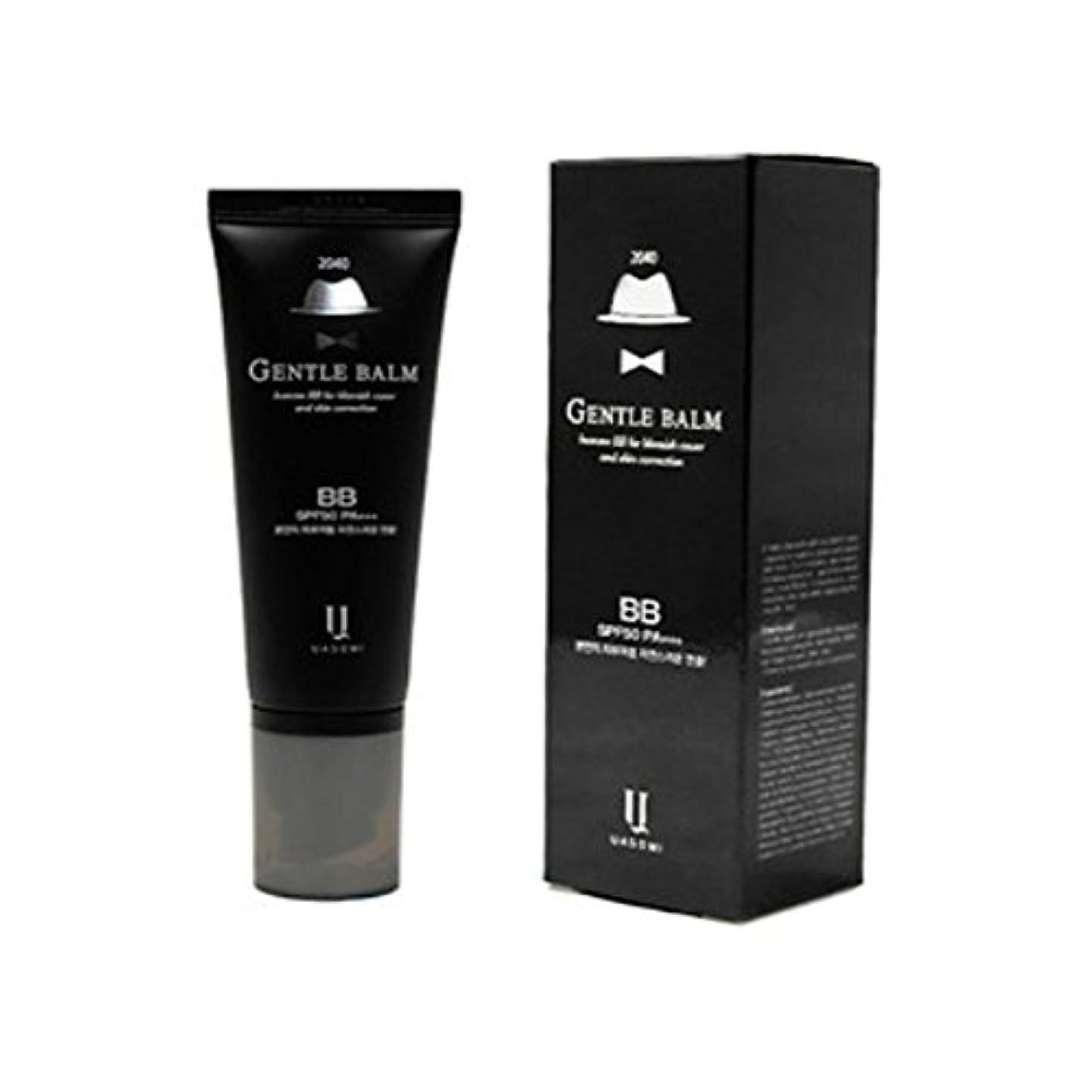 甘くする電子レンジ石の(男 BB クリーム 韓国 日焼け止め) homme 2040 BB for blemish cover and skin correction korea beauty Gentle bam SFP50 PA+++
