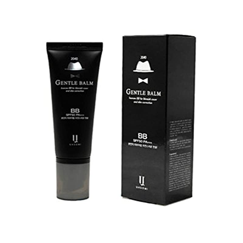 ぎこちないボスだらしない(男 BB クリーム 韓国 日焼け止め) homme 2040 BB for blemish cover and skin correction korea beauty Gentle bam SFP50 PA+++