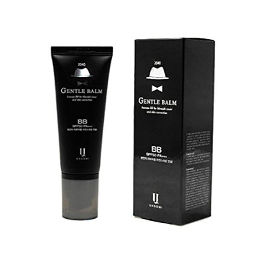 これら過半数花弁(男 BB クリーム 韓国 日焼け止め) homme 2040 BB for blemish cover and skin correction korea beauty Gentle bam SFP50 PA+++ (...