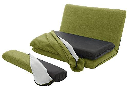 セルタン カバーリング ソファベッド 「MORIITO」 タスクグリーン DMT3-583GRN