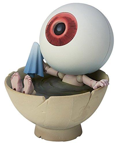 タケヤ式自在置物 ゲゲゲの鬼太郎立体絵巻 目玉おやじ 全高約100mm PVC&ABS製 塗装済み 可動フィギュア