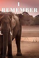 I Remember; Never Forget: ELEPHANT Journal