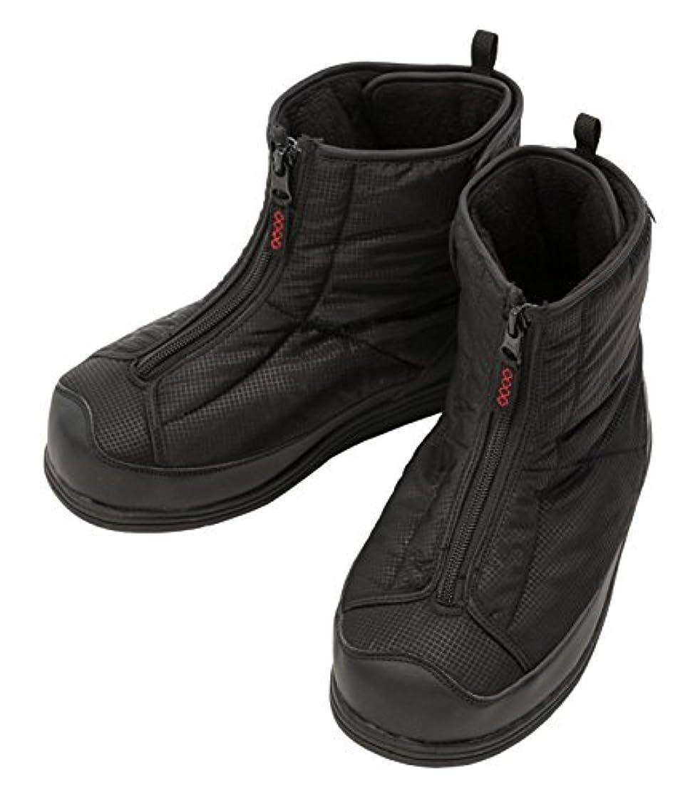 み静脈おんどり徳武産業株式会社 防寒ワイドブーツ 黒 3L 5020