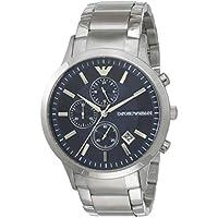 Emporio Armani Men's AR11164 Chronograph Quartz Silver Watch
