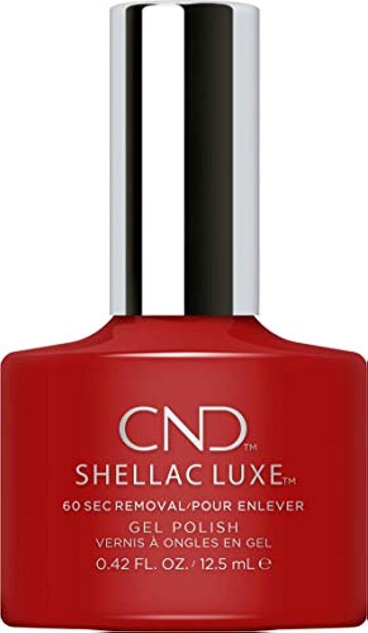 応じる溶融芽CND Shellac Luxe - Brick Knit - 12.5 ml / 0.42 oz