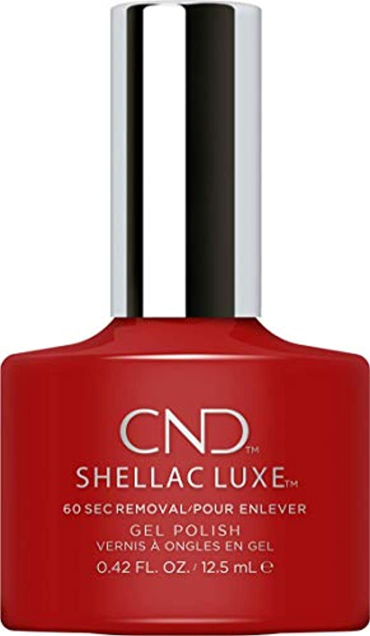 見込み中央統合CND Shellac Luxe - Brick Knit - 12.5 ml / 0.42 oz