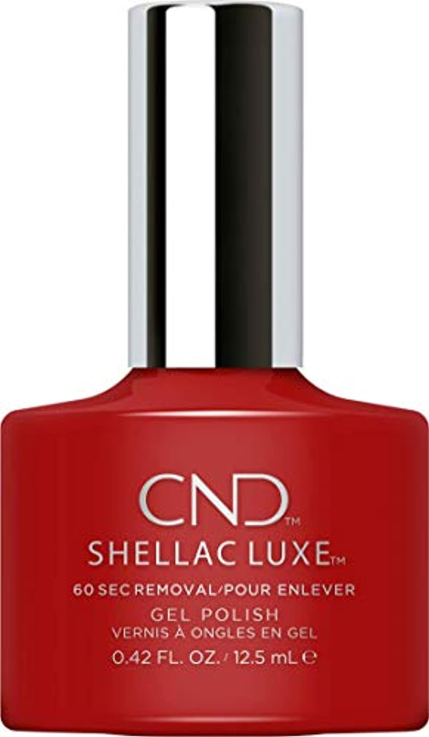 警察ながら予知CND Shellac Luxe - Brick Knit - 12.5 ml / 0.42 oz