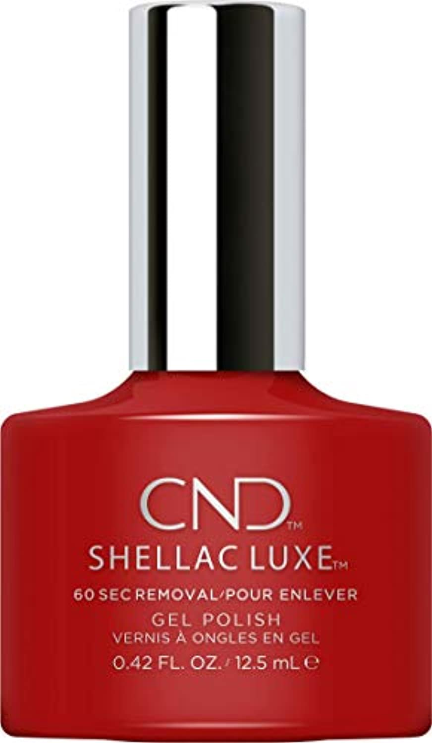 定刻スーダン魅力CND Shellac Luxe - Brick Knit - 12.5 ml / 0.42 oz