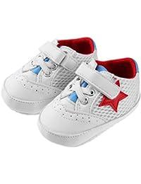 Amiu 春と秋の新しいスタイル ベビーシューズ 通気性メッシュベビーシューズ ソフトボトムスリップ幼児靴