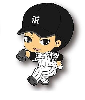 阪神タイガース 選手CUTEラバーストラップ:19番・藤浪選手
