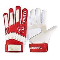 アーセナル フットボールクラブ Arsenal FC オフィシャル商品 キッズ・子供用 ゴールキーパーグローブ (Youth) (レッド/ホワイト)