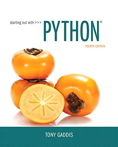 Download Starting Out with Python Plus MyLab Programming with Pearson eText -- Access Card Package (4th Edition) 0134543661