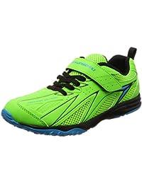 [シュンソク] 運動靴 通学履き 瞬足 スパイク 軽量 20~26cm キッズ 男の子 SJJ 5190 グリーン 20.5 cm 2E