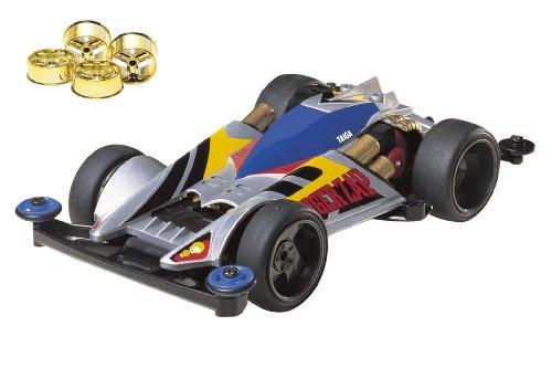 ミニ四駆限定シリーズ スーパーミニ四駆 タイガーザップ (ゴールドメッキホイール付き) 94962