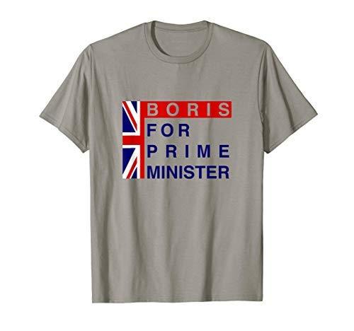 ボリスジョンソン首相Tシャツ