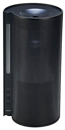 RoomClip商品情報 - mood ハイブリッド式加湿器 ブラック MOD-KH1503 BK