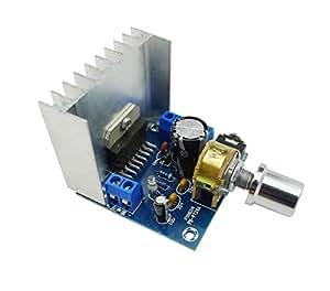 KKHMF TDA7297 AC/DC 12V 2*15W デジタル ステレオ オーディオ アンプ デュアル チャンネル アンプモジュール