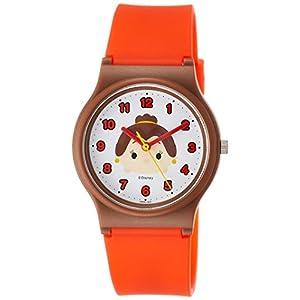[シチズン キューアンドキュー]CITIZEN Q&Q 腕時計 ディズニー コレクション TSUMTSUM ベル ウレタンベルト レッド HW00-009 ガールズ