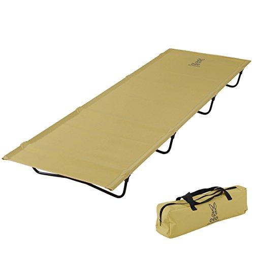 DOPPELGANGER(ドッペルギャンガー) アウトドア バッグインベッド 軽量コンパクト 2.3kg バッグに入る折りたたみベッド CB1-510T