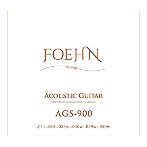 FOEHN AGS-900 Custom Light 80/20 Bronze アコギ弦 ×6セット