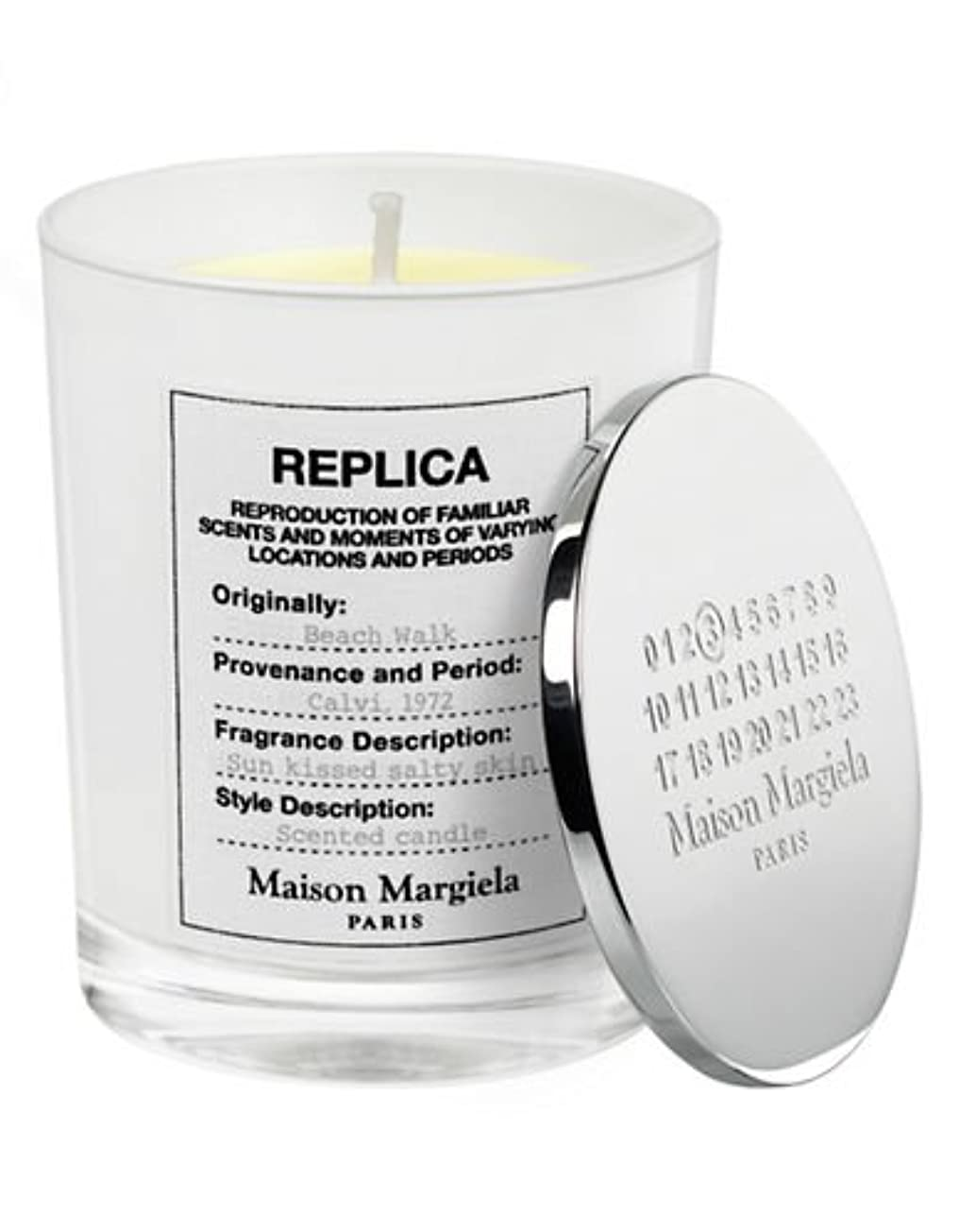 虐殺十分に連帯( 1 ) Maison Margiela 'レプリカ' Beach Walk Scented Candle 5.82oz