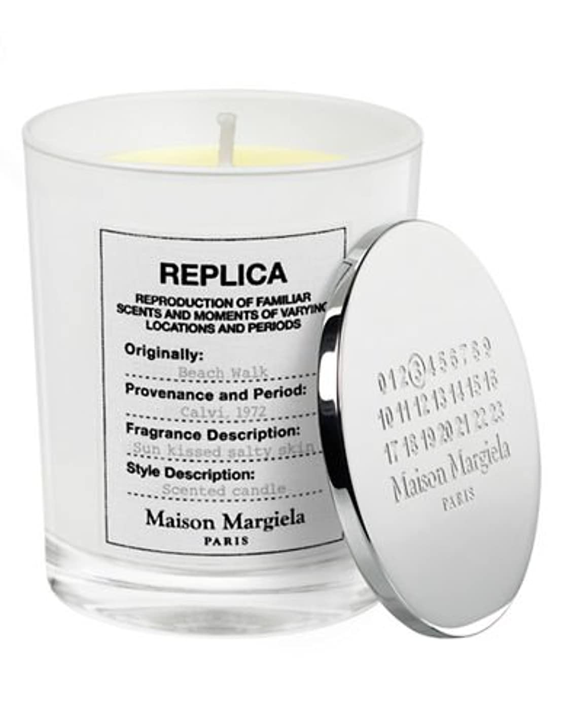 繕うノイズ暴露する( 1 ) Maison Margiela 'レプリカ' Beach Walk Scented Candle 5.82oz
