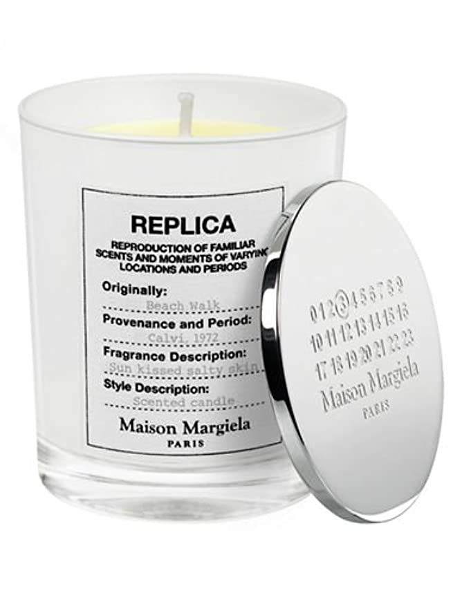 食物束ナインへ( 1 ) Maison Margiela 'レプリカ' Beach Walk Scented Candle 5.82oz