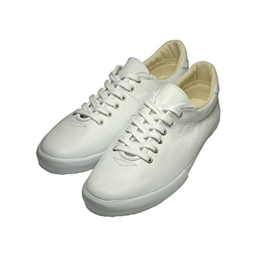 (マカロニアン) maccheronian 0039L[UNISEX]LOW-CUT LEATHER SNEAKER[WHT]40