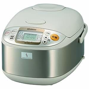 象印 炊飯器 マイコン式 5.5合 ステンレス NS-TC10-XA