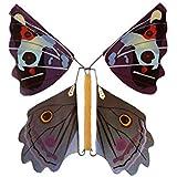 POOMフライング蝶子供の魔法の小道具のおもちゃ魔法の妖精フライング本蝶ゴムバンドで風アップおもちゃ